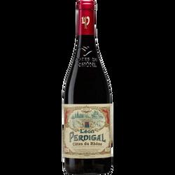 Vin rouge Côtes du Rhône AOP Léon Perdigal, 75cl