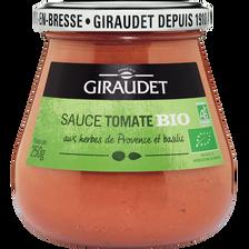 Sauce tomate bio GIRAUDET, 250g
