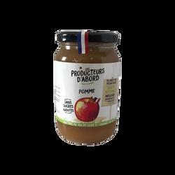 Purée de pommes les producteurs d'abord, 350g