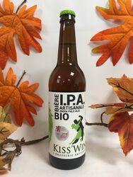 Kiss'Wing - Bière I.P.A  Artisanale - Bio 50cl