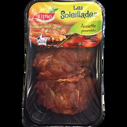 Araignée de porc marinée au piment d'espelette, France, 4 pièces