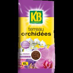 Terreau pour orchidées KB, 6l