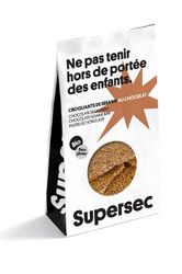 CROQUANT BIO SÉSAME/CHOCOLAT 110G - SUPER SEC