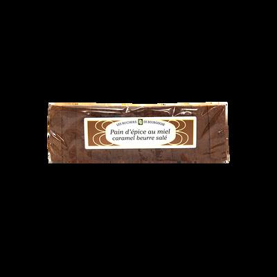 Pain d'épices caramel beurre salé et fleur de sel de Guérande tranché RUCHERS BOURGOGNE, 300g