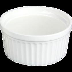 Ramequin en porcelaine durable diamètre 6cm