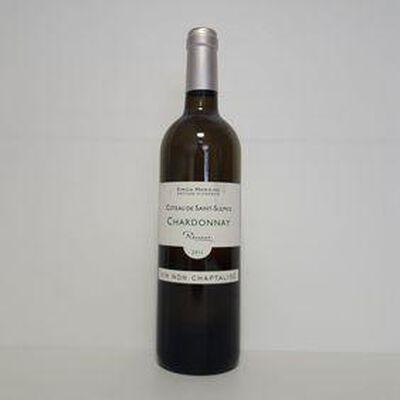 Coteau de Saint-Sulpice Chardonnay vin blanc SIMON HAWKINS bouteille 75cl