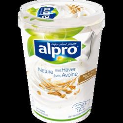 Yaourt au soja et à l'avoine ALPRO, pot de 500g
