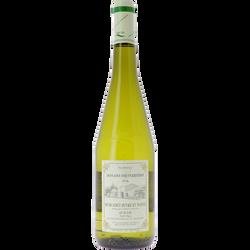 """Vin blanc AOP Muscadet Sèvre & Maine sur lie """"Domaine des Perrières"""",75cl"""