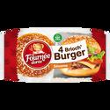 La Fournée Dorée Brioch' Burger Sésame , 4 Paquets De 250g