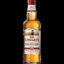 Scotch whisky Blended SIR EDWARD'S, 40°, bouteille de 1 litre