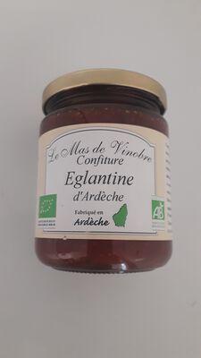 CONFITURE EGLANTINE D'ARDECHE, mas de Vinobre, 320GR