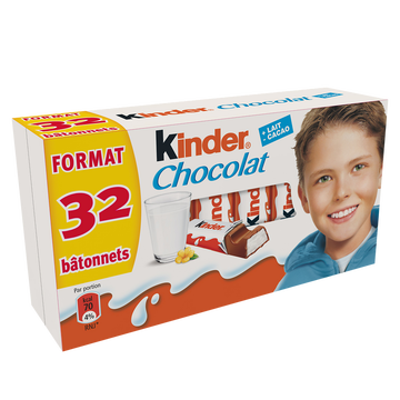 Kinder Chocolat T1 Kinder, 16x2, 400g
