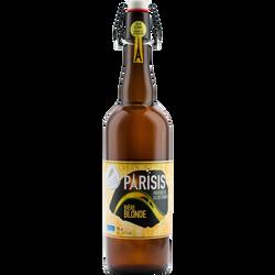 Bière blonde PARISIS, 6,5° bouteille de 75cl