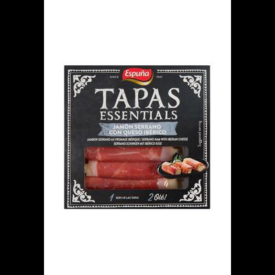 Tapas fourré fromage iberico avec jambon serrano ESPUNA, 100g
