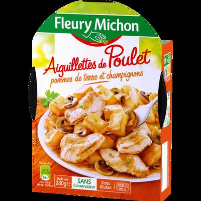 Aiguillette de poulet pommes de terre champignons FLEURY MICHON, 280g
