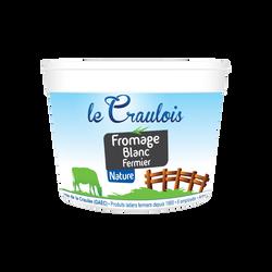 Fromage blanc fermier LE CRAULOIS, 6,5% de MG, 500g