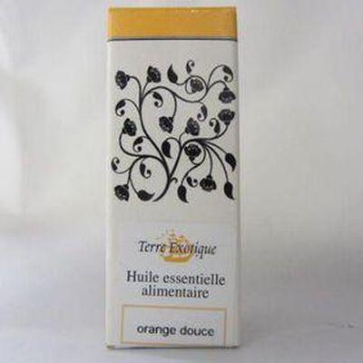 Huile essentielle alimentaire Orange douce Bio TERRE EXOTIQUE,10ml
