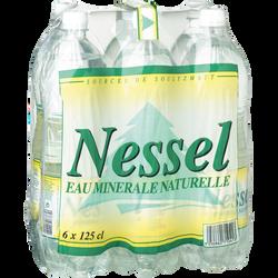 Eau minérale naturelle NESSEL, 6 bouteilles de 1,25l