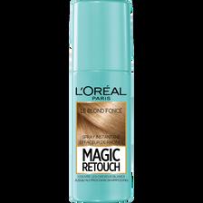 Spray instantané effaceur de racines blond foncé n°4 MAGIC RETOUCH, flacon de 75ml