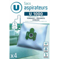 SAC ASPIRATEUR U SU1000 X4
