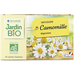 Infusion JARDIN BIO, Camomille, x20