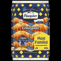 Croissants BRIOCHE PASQUIER, x16, 640g