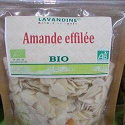 amandes effilées bio 125g