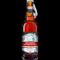Bière Impérial Milk Stout MONT BLANC 6,5°, 75cl