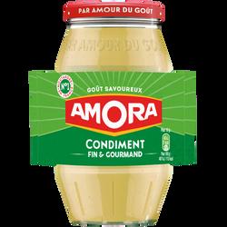 Moutarde condiment de Dijon 5 AMORA, 430g