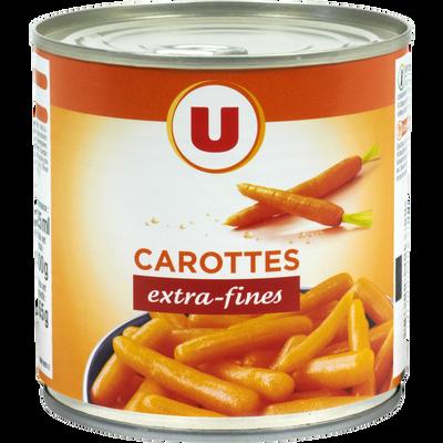 Carottes extra fines U, boîte de 1/2, 265g
