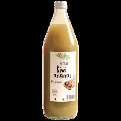 Nectar kiwi ananas LA SOURCE DU VERGE, bouteille 1l