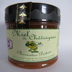 Miel de châtaignier, Charentes Poitou, 250gr, pot, Coopérative des Charentes et du Poitou