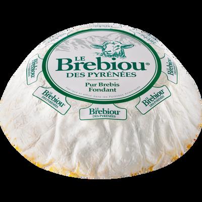 Fromage au lait de pur brebis pasteurisé BREBIOU, 23%mg