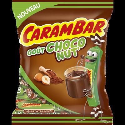 Confiserie goût choco nut CARAMBAR, 250g