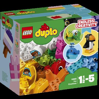 Les créations amusantes LEGO Duplo