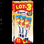 Signal Dentifrice Fruitgolo Pour Les 3-6 Ans Signal, 3x50ml