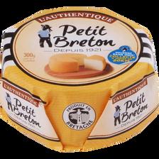 Fromage au lait pasteurisé l'Authentique PETIT BRETON, 27% de MG, 300g