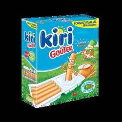 Fromage fondu et gressins KIRI Goûter 8 barquettes, 280g