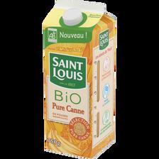 Sucre pure canne Bio SAINT LOUIS, paquet 750g