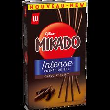 Mikado chocolat noir intense pointe de sel LU, 70g