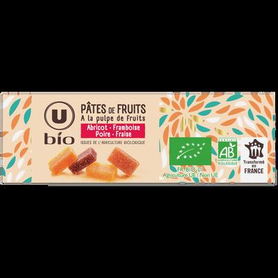 Pâte de fruit bio U, 240G