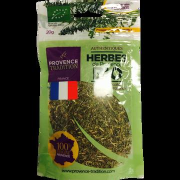 Provence Tradition Herbes De Provence, Bio, France, Sachet 20g