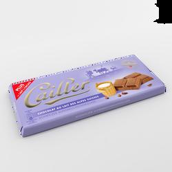 Tablette de chocolat au lait CAILLER, 100g