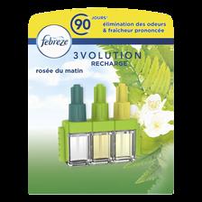 Febreze Désodorisant Recharge 3volution Parfum Rosée Du Matin