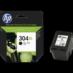 Cartouche d'encre HP pour imprimante, N9K08AE noir, N°304 XL, sous blister