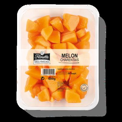 Melon Charentais, FLORETTE, barquette 600g