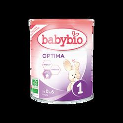 Optima 1 BABYBIO, 0 à 6 mois, 400g