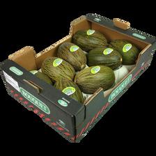 Melon vert, calibre 1,4/1,9kg, Espagne, la pièce