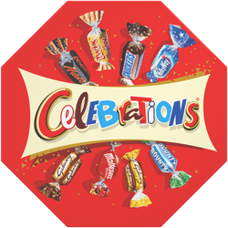 Chocolats assortis CELEBRATIONS, centerpiece, 385g