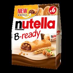 biscuit croustillant fouré au NUTELLA B-ready, paquet de 132g